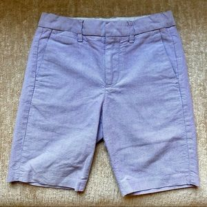 Boys CrewCut Size 7 Shorts in Lavender.